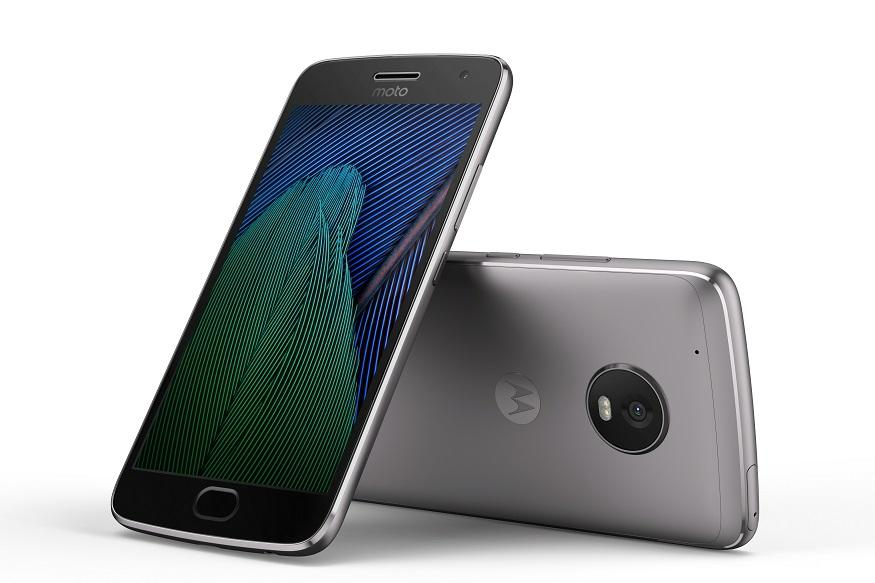 Moto G5 Plus Black Front Back - MWC 2017: Motorola Launches Moto G5 And Moto G5 Plus