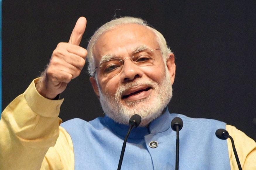 narendra modi pti 875 - Prime Minister Narendra Modi Heaps Praises on ISRO