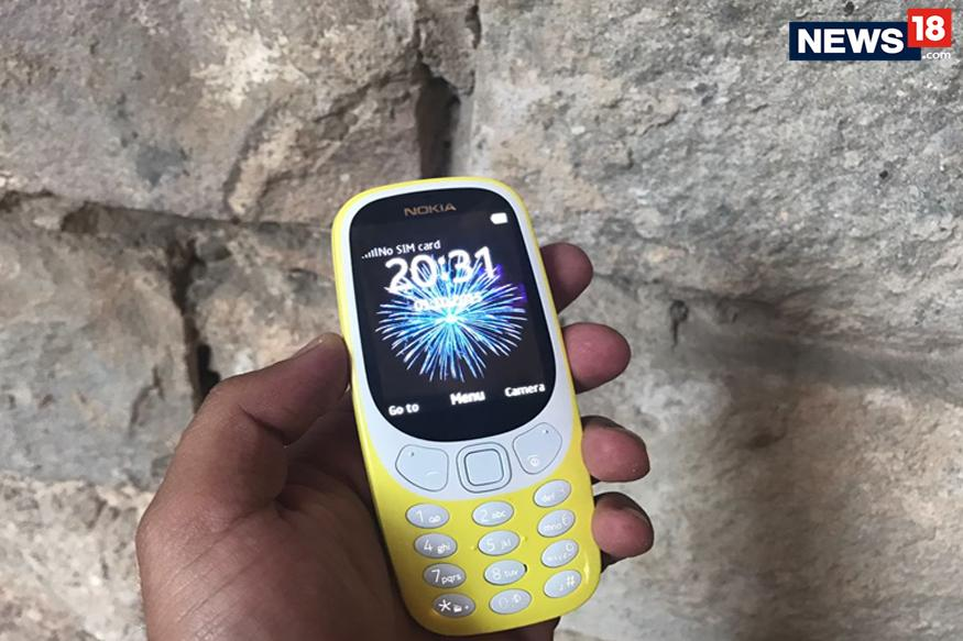 nokia 3310 front - Nokia 3310 First Look Video: Check Out The Iconic Little Nokia Phone