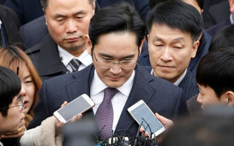samsung lee 800x500 - Samsung Group Chief Jay Y Lee Indicted for Bribery Charges