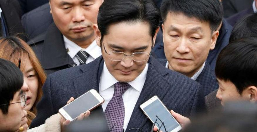 samsung lee 875x450 - Samsung Group Chief Jay Y Lee Indicted for Bribery Charges
