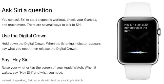 siri applewatch - Artificial intelligence 'will save wearables'!