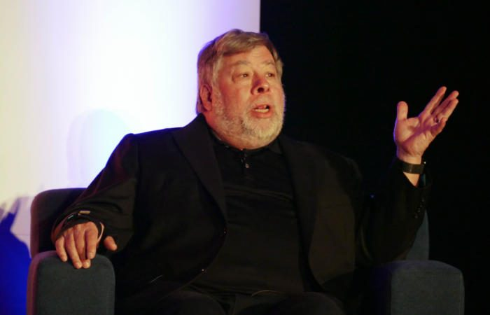 20170322 steve wozniak at techignite 100714690 large 2 700x450 - It wasn't the money: Wozniak on robots, design, and Apple's origins