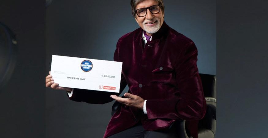 Amitabh Bachchan OnePlus 3T 875x450 - OnePlus And Amitabh Bachchan Announce 'Best Smartphone Contest'