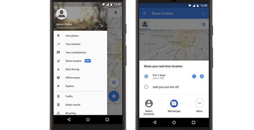 Google Mpas Location Sharing 1 875x450 - India's App Usage Growing at 43% Year-on-Year: Study