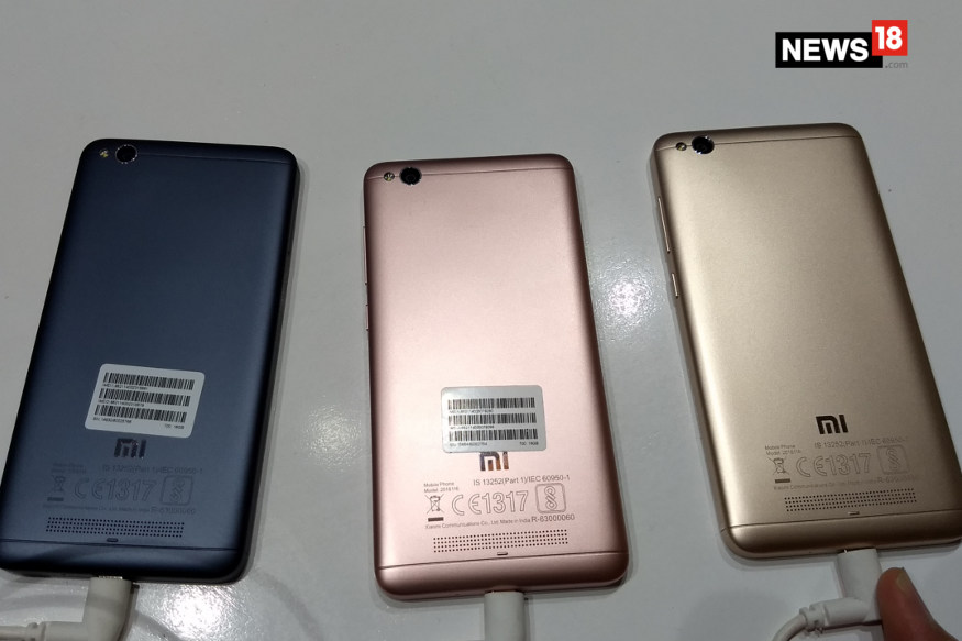 Xiaomi Redmi 4A colour options 2 - Xiaomi Redmi 4A to go on Sale Today For Rs 5,999 on Amazon.in And Mi.com: All You Need to Know