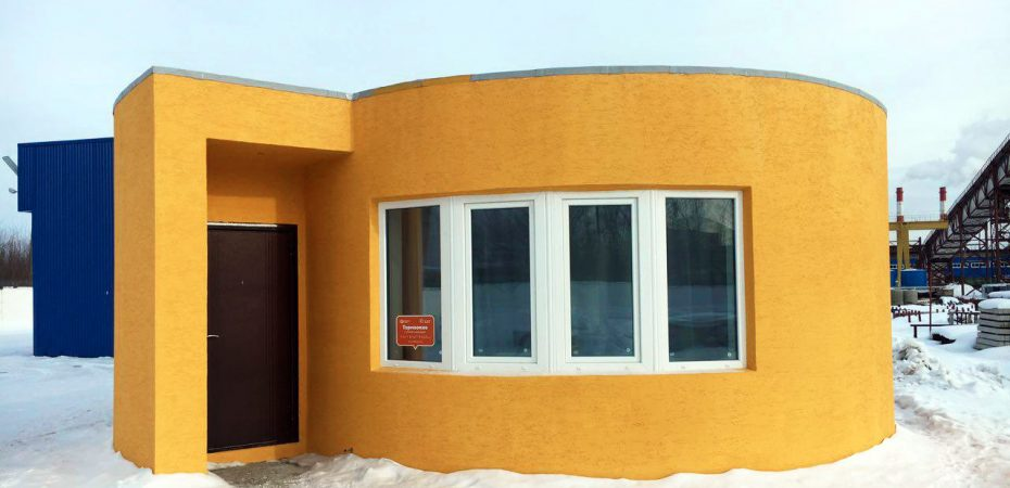 apis cor 3d printed home 930x450 - This House Was 3D Printed in Less Than 24 Hours