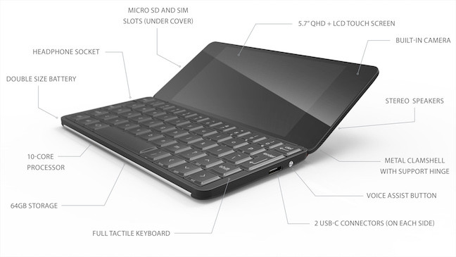 gemini annotated w648px - The Psion returns! Meet Gemini, the 21st century pocket computer
