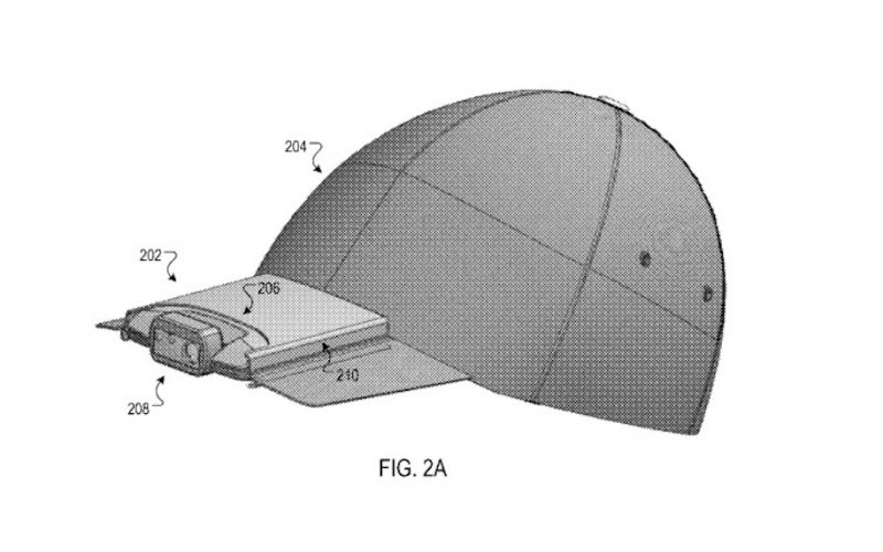 google camera hat patent 800x500 - Could This Hat-Camera Combo Be Google's Next Hit?