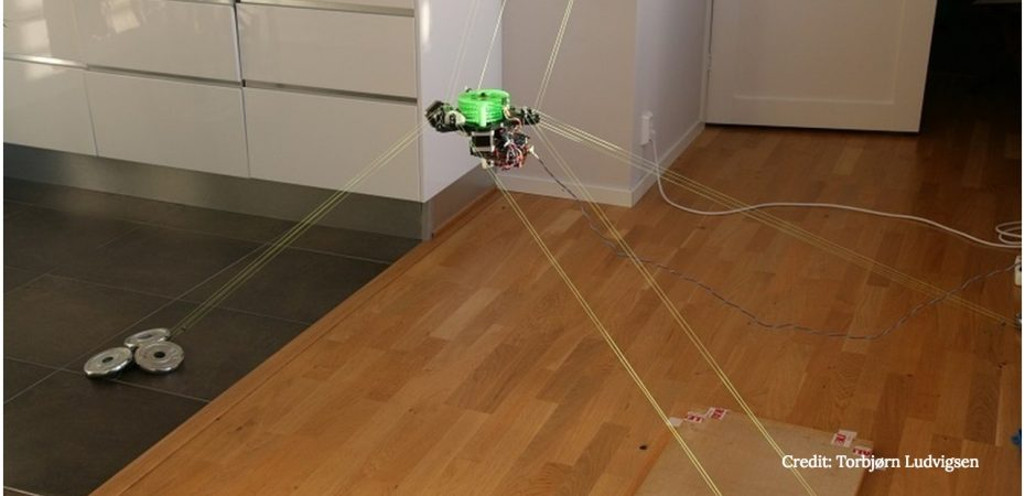 hangprinter 1 930x450 - Open-Source Prototype Turns Any Room Into a 3D Printer