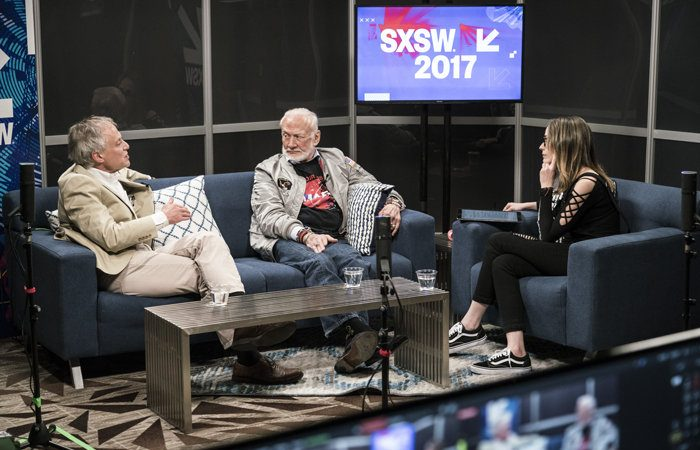 sxsw buzz aldrin 100713617 large 700x450 - Buzz Aldrin's hologram will take you on a dazzling virtual mission to Mars
