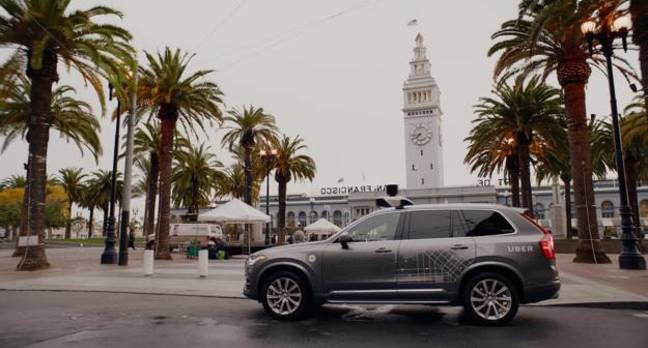 uber self driving car.jpgx648y348crop1 - Robo-Uber T-boned, rolls onto side, self-driving rides halted