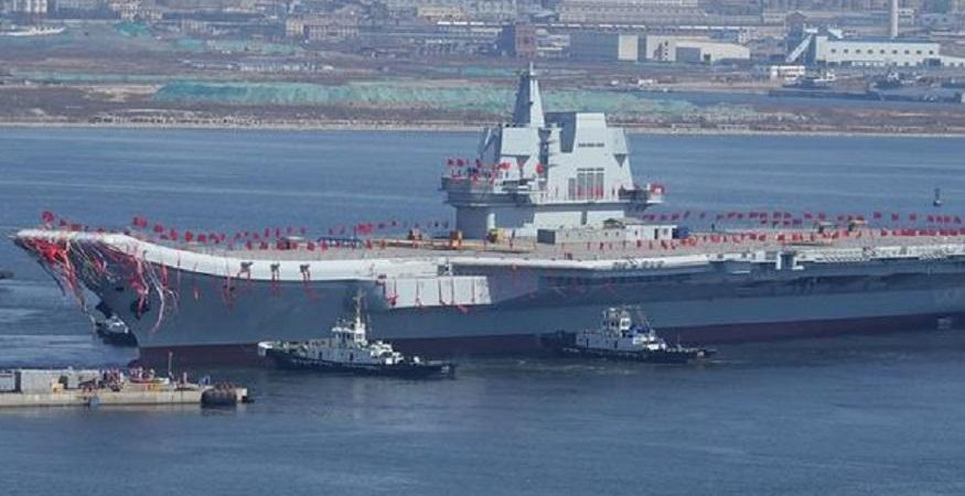 China Aircraft Carrier 875x450 - China Launches Second Home-Built Aircraft Carrier