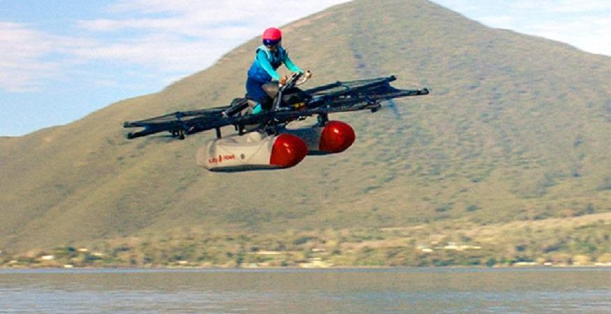 Kitty Hawk Flyer 875x450 - Flying Cars Made Real by Silicon Valley Startup 'Kitty Hawk'