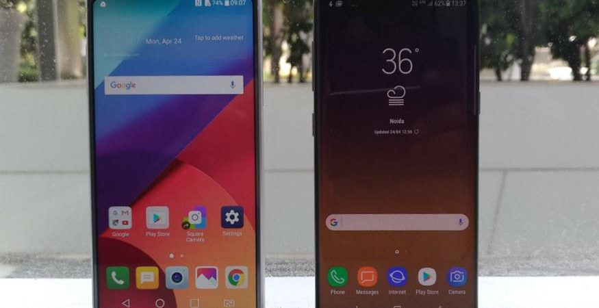 LG G6 vs Samsung Galaxy S8 875x450 - LG G6 vs Samsung Galaxy S8: It's Beauty vs Toughness