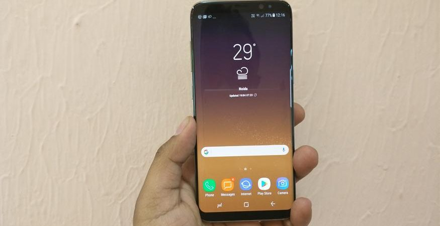 Samsung Galaxy S8 Launch India 1 875x450 - Samsung Galaxy S8 And S8 Plus in Pics: Check Out the New Flagship Smartphones