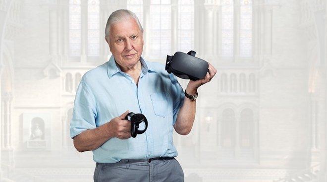 aHR0cDovL3d3dy5saXZlc2NpZW5jZS5jb20vaW1hZ2VzL2kvMDAwLzA5MS80MzEvb3JpZ2luYWwvZGF2aWQtYXR0ZW5ib3JvdWdoLWhvbG9ncmFtLmpwZWc - Tour London's Natural History Museum in VR with David Attenborough