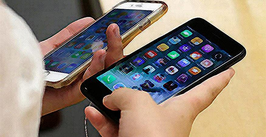 apple iphone 1 875x450 - Smartphones To be 62% of All Cell Phone Sales In India in 2018