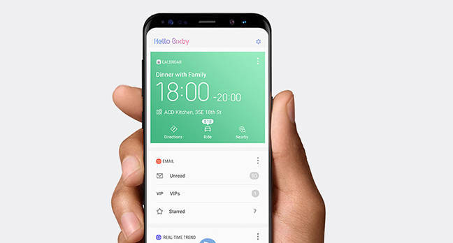 bixby.jpgx648y348crop1 - Samsung's Shixby: Reviewers unimpressed with S8 digital assistant