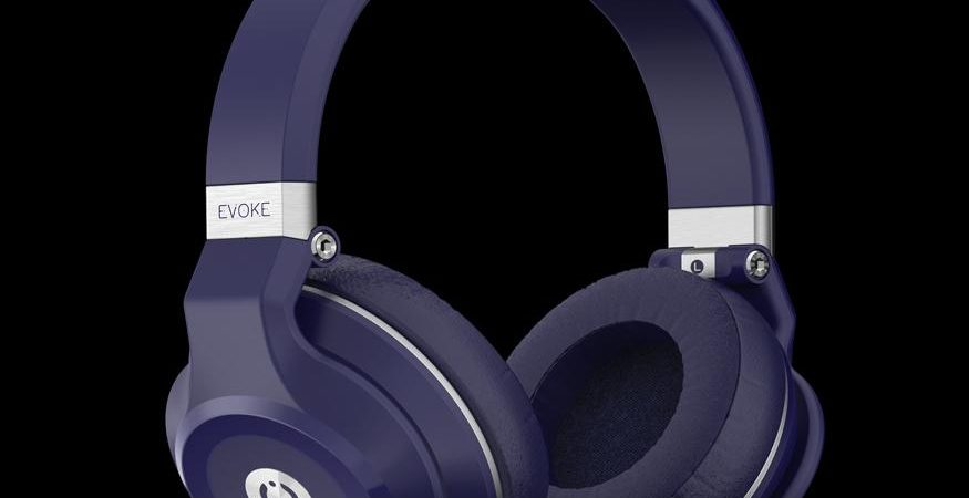 evoke headphones 875x450 - MuveAcoustics Launches Over-ear Bluetooth Headphone Evoke
