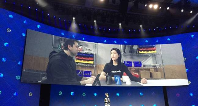 facebook f8 day2 - Zuckerberg's absolutely mental: Brain sensors that read YOUR MIND at 100 words a minute