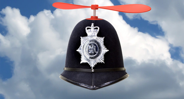 flying police helmet teaser.jpgx648y348crop1 - Drone complaints to cops are up twelvefold in three years