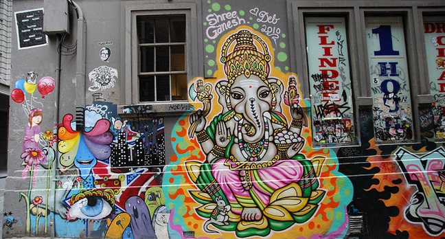 ganesha 648.jpgx648y348crop1 - Graffiti 'dying out' as kids dump spray cans for Instagram, Twitter etc