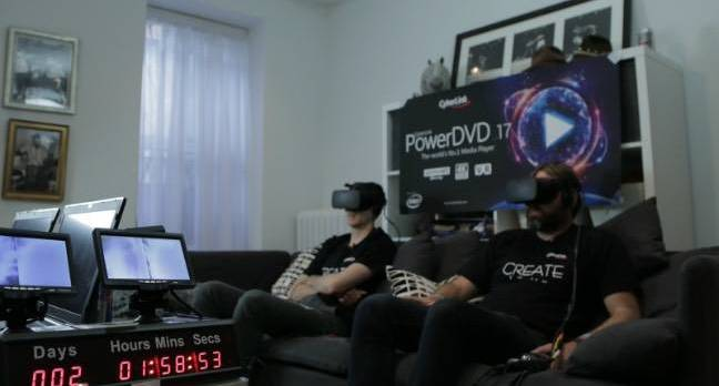 guinness record vr edit - 'Grueling' record-breaking VR movie marathon triggers hallucinations