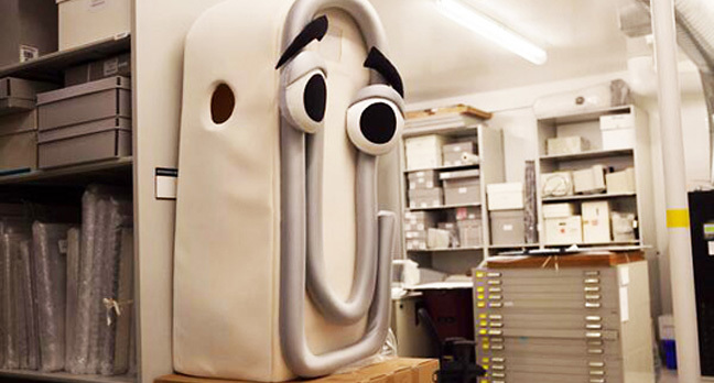microsoft clippy 648.jpgx648y348crop1 - Facebook's 'delightful' AI Clippy the Paperclip creeps into Messenger