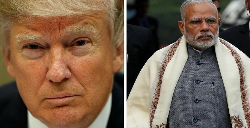 modi trump1 875x450 - Narendra Modi Outvotes Donald Trump on Instagram
