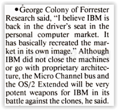 ps2 os2 hmmm - It's 30 years ago: IBM's final battle with reality