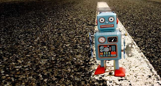 robot on road photo via shutterstock.jpgx648y348crop1 - Forget robot overlords, humankind will get finished off by IoT