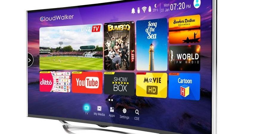 Cloud TV 55SU C 1 875x450 - CloudWalker Launches 55-inch Smart TV Starting at Rs 54,999