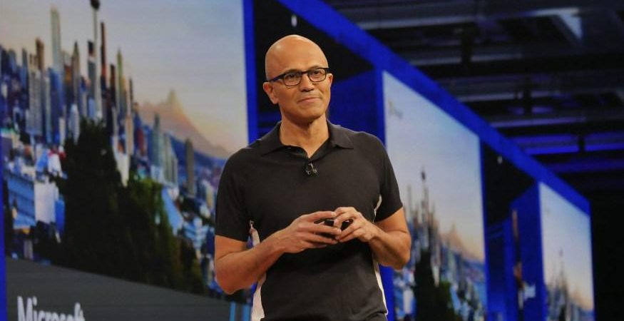 Microsoft Build 2017 Satya Nadella 875x450 - Microsoft Build 2017: CEO Satya Nadella Paves The Way For Intelligent Cloud
