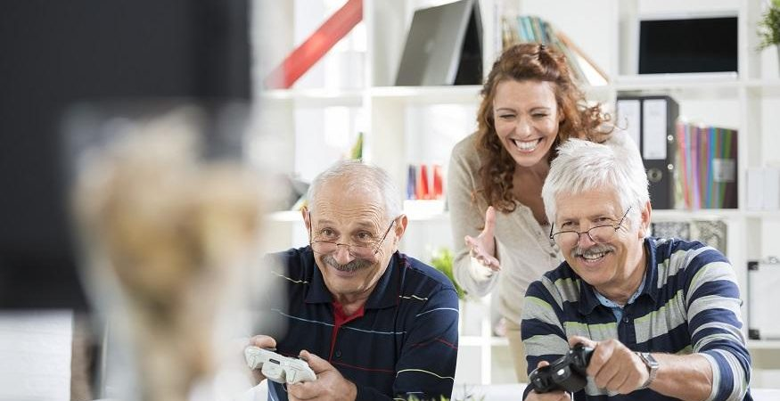 Video Games 875x450 - Active Video Games Good For Brain Health: Research