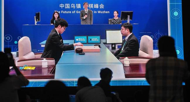 alphago china - Machine 1, Man 0: AlphaGo slams world's best Go player in the first round