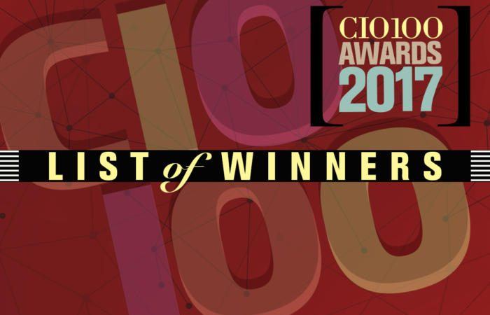 cio100 winners 100720432 large 700x450 - CIO.com honors the 2017 CIO 100 winners and Hall of Fame inductees