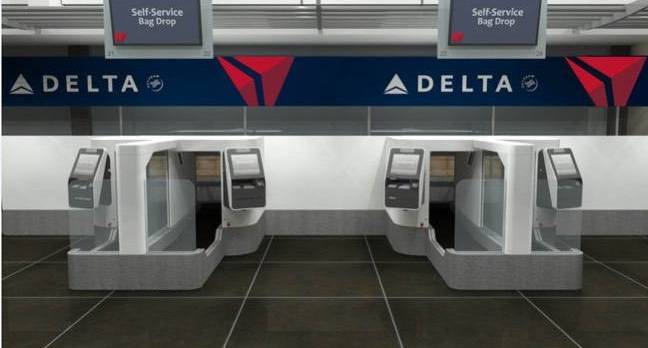 delta face rec - What could go wrong? Delta to use facial recog to automate bag drop-off