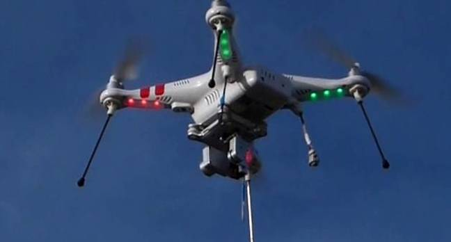 dji phantom2 drone - DJI: Register your drones or no more cool flying vids for you