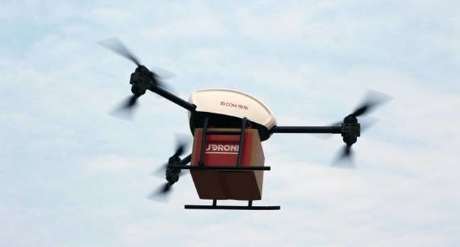 drone - Chinese e-tailer beats Amazon to the skies with one-ton delivery drones