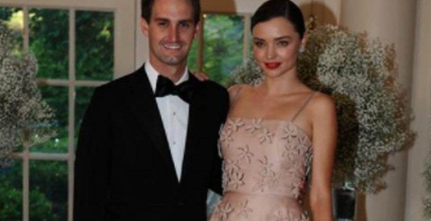 evan miranda 1 875x450 - Snapchat Founder Evan Spiegel, Miranda Kerr To Tie The Knot Soon