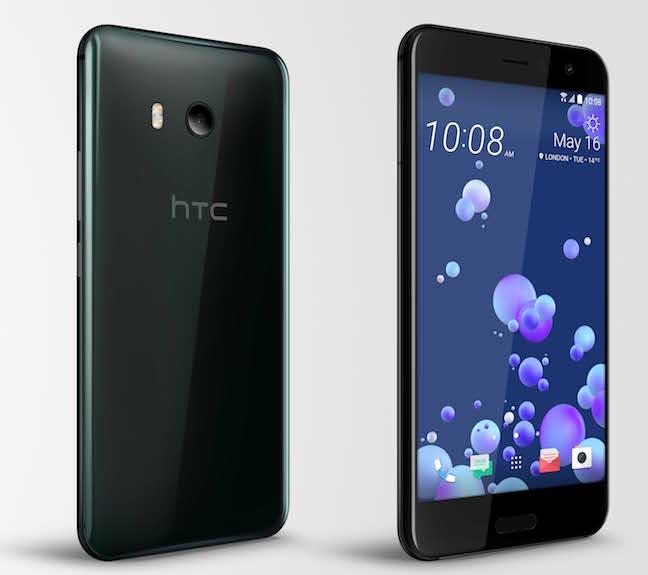 htc u11 official ocean pair - HTC's 2017 flagship U11 woos audiophiles and bundles Alexa