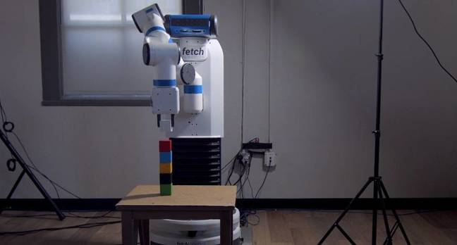 openai robot arm - Pay attention. We're only going to show you this once: OpenAI coaches robots to copy humans