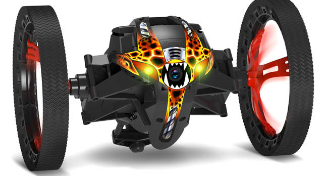 parrot minidrone jumping sumo - French drone bods Parrot wheel out 'prosumer' division