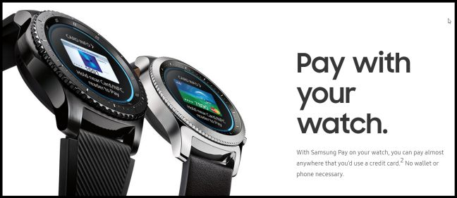 samsung gear s3 pay - Why being late isn't fatal for Samsung Pay