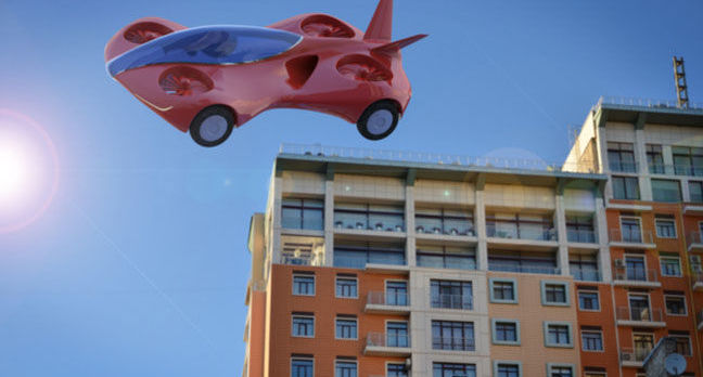 shutterstock flying car - Flying robots are great… until they meet flying humans, anyway