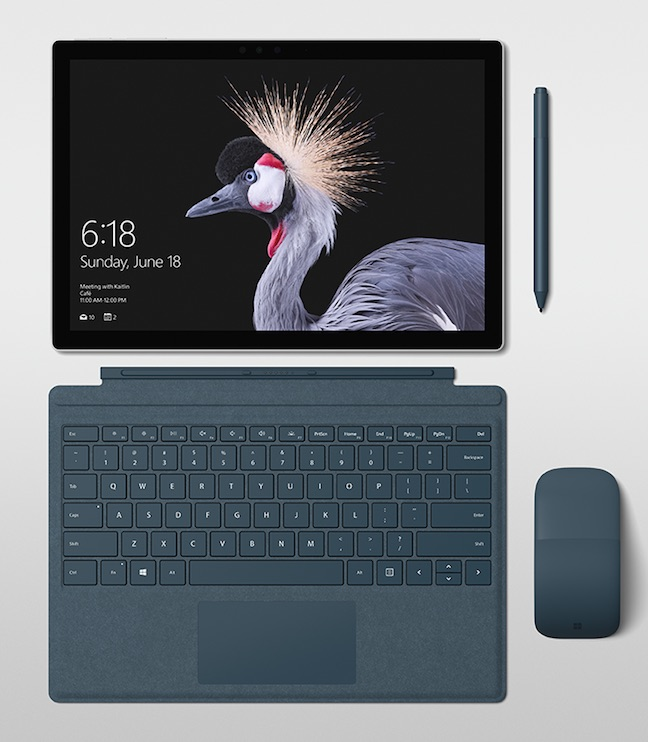 surface 2017 tablet kbd pen ensemble w648px - It's just 'Pro' now, guys: Microsoft gives Surface a subtle resurfacing