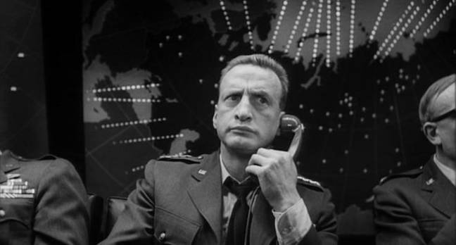 dr strangelove - The nuclear launch button won't be pressed by a finger but by a bot