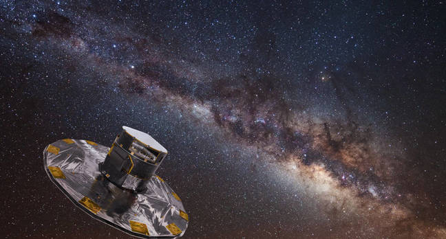 gaia star mapping - Skynet? More like Night-sky-net. AI hunts for Milky Way's turbo stars