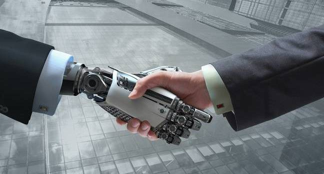 robot human handshake ai - OpenAI, DeepMind double team to make future AI machines safer